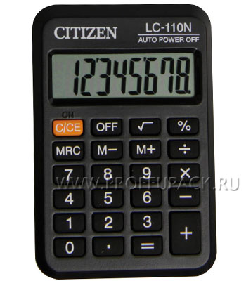 Калькулятор CITIZEN LC-110N (000-993) [1/20]