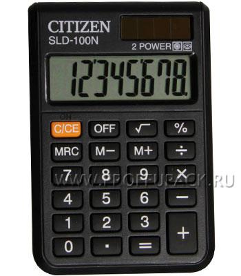 Калькулятор CITIZEN SLD-100NR (158-176/250-086) [1/20]