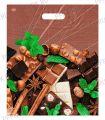 БРОНЗ, вырубная ручка, 38х45+3 (60мкм) ГЛЯНЕЦ, ТИКО Шоколадное настроение [50/50..