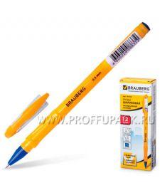 Ручка масляная BRAUBERG Oil Sharp (Ойл Шарп) 0.5мм Синяя (141-532) [12/360]