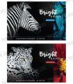 Альбом для рисования А4 (40 листов) Животные. Bright&black (280-665/А40_26252) [..