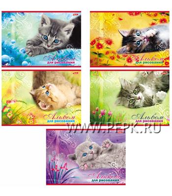 Альбом для рисования А4 (20 листов) Котята (097-715 / 20А4В) [12/60]