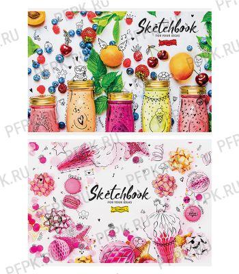 Альбом для рисования А4 (32 листа) Стиль. Bright sweets (262-389/А32ф_20299) [5/50]