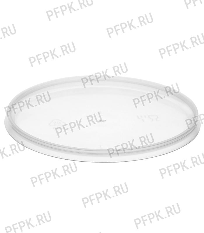 Ведро 0,55л прозрачное (без крышки ) [1/100]