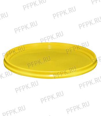 Крышка к ведру 0,55л Желтая [1/200]