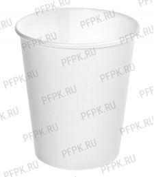 Стакан 250 мл бумажный (белый) [50/1000]