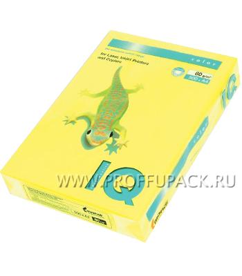 Бумага офисная цветная IQ А4, 500л. (неон) Желтый неон (083-745 / 110-667/ NEOGB) [1/5]
