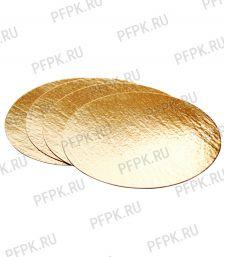Вакуумная подложка д-р 200 мм Золото/Картон [100/100]
