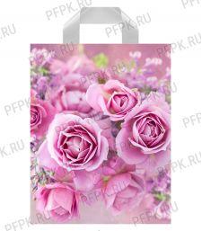 ПРЕСТИЖ 28х35 (55 мкм) ПВД, ТИКО Нежные розы [50/700]