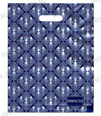 ПЕРФЕКТО, вырубная ручка, 30х37+3 (90мкм) ПВД, ТИКО Бизнес [25/400]