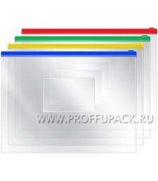 Папка-конверт на молнии 240х190мм (А5) (178-881 / ZB5_1780) [12/480]