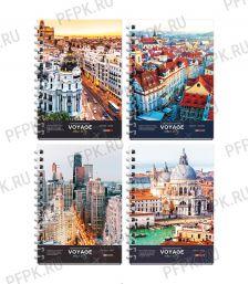 Блокнот А6 (120 листов) твердая обложка Путешествия(285-238/ЗКт6к120гр_27713) [1/48]