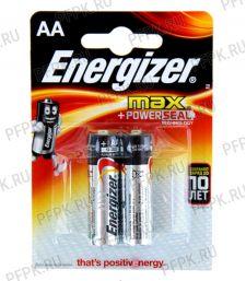 Батарейки ENERGIZER Max LR6 (АА) алкалин (блистер 2 шт) [2/144]