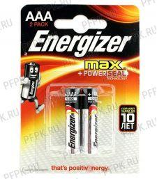 Батарейки ENERGIZER Max LR3 (ААА) алкалин  (блистер 2 шт) [2/144]
