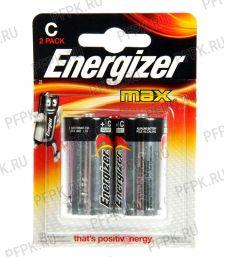 Батарейки ENERGIZER Max LR14 (С) алкалин (блистер 2 шт) [2/20]