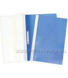 Папка-скоросшиватель А4, плотная (до 100 листов) Синяя (162-564 / Fms16-5_718) [10/500]