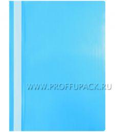Папка-скоросшиватель А4, стандарт (до 100 листов) Синяя (240-676 / Fms16-5_11689) [20/600]