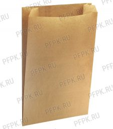 Пакет бум. 190х50х310,крафт [1500/1500]