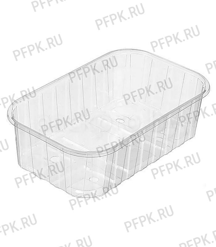Емкость ПР-КФ Кр-36 ПЭТ (крышка к емкости ПР-КФ-55) Прозрачная [1/500]