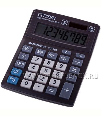 Калькулятор CITIZEN SD208 Correct SD208 (218-798 / SD-208)