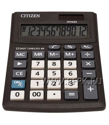 Калькулятор CITIZEN SD212 Business Line CMB1201BK (250-433)