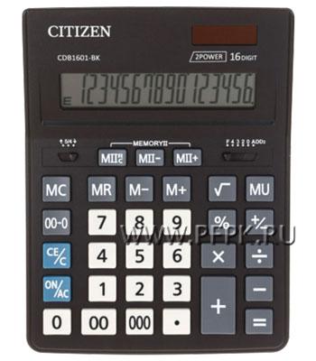 Калькулятор CITIZEN D16 Business Line CDB1601BK (250-436)