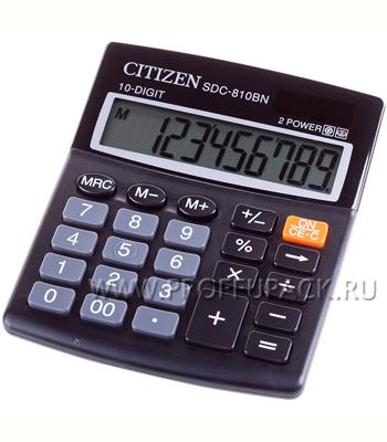 Калькулятор CITIZEN SDC-810BN (023-101) [1/20]