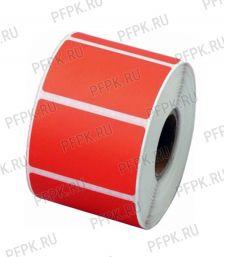 Термоэтикетки 58х60 ECO (ЭКО) 2500 эт. ЦВ Красная [1/40]