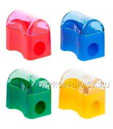 Точилка пластиковая с контейнером (186-689 / SHP801_2002) [72/4320]