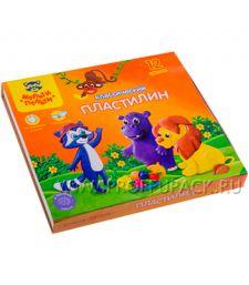 Пластилин (набор 12 цветов + стек) (236-483 / КП_10209) [1/16]