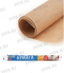 Пергамент силикон. для выпечки PATERRA в рулоне Бумага коричневая (209-012) [25/25]