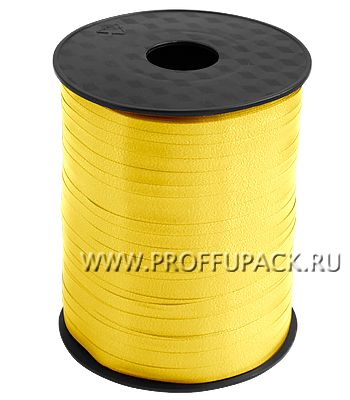 Лента на бобине цветная 0,5см х 500м FIESTA Желтая FIESTA W-2 [4/60]