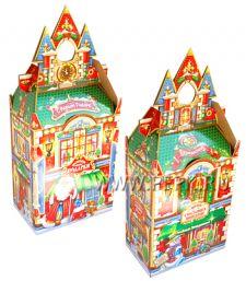 Коробка картон. 2500 гр Замок [1/50]