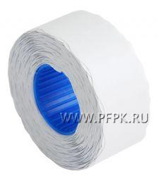 Этикет-лента 26х16 волна белая (800шт) (243-273) [10/500]