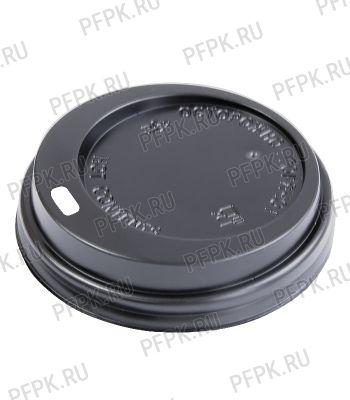 Крышка к стакану 350мл черная, д-р 90мм [100/1200]