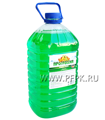 Мыло жидкое 5л. ПЭТ Прогрессия (Фруктовое,зеленое)
