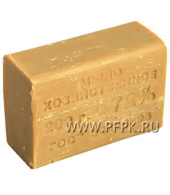 Мыло хозяйственное без упаковки (72%) (200гр) [1/60]