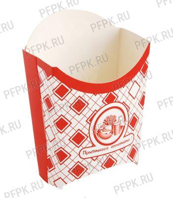 Коробка для картофеля фри 100 гр. Картония [1/500]