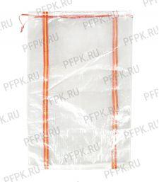Мешок полипропиленовый 55х95 прозрачный с завязками ВС [1000/1000]