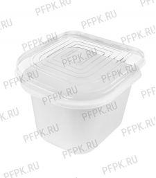 Емкость ПР-КМ-2500К (крышка) Прозрачная ПЭТ [1/300]