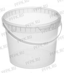 Ведро 11,5л (без крышки) Прозрачное JET 110-15PM [1/28]