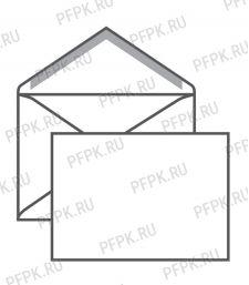 Конверт С6 (комплект 1000шт) белый, 114х162 (124-407/76408)