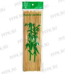 Шампуры для шашлыка 250мм (100 шт. в уп.) Бамбуковые Фиеста [1/100]