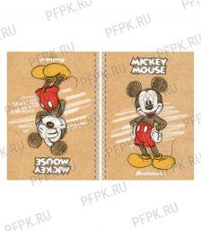 Тетрадь А5 80л на гребне твердая обложка Disney. Микки Маус(287-872/80Тдт5В1гр_20576) [4/40]