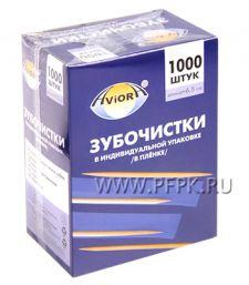Зубочистки в индивид. упаковке (1000 шт.в уп.) в ПП AVIORA (401-488) [1/30]