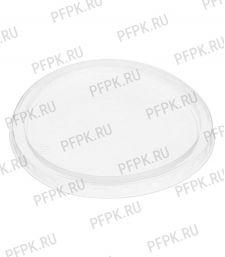 Крышка К-115К, круглая, прозрачная, СТП [50/500]