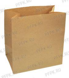 Пакет бум. 320х200х340,крафт [100/500]