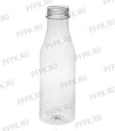 Бутылка 500 мл ПЭТ без крышки д-р 38мм [100/100]