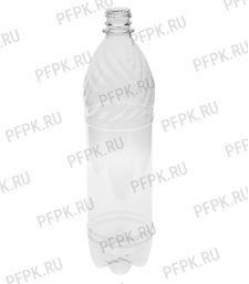 Бутылка 1л ПЭТ без крышки д-р 28мм [72/72]