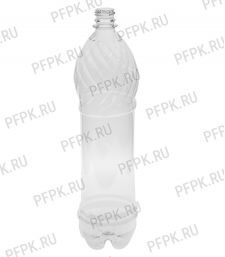 Бутылка 1,5л ПЭТ без крышки д-р 28мм [48/48]